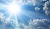 The-Bright-Sun-Blue-Sky-Clouds